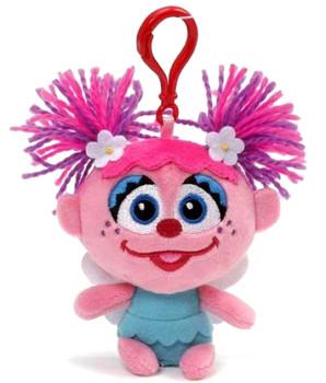 """Sesame Street Abby Cadabby 5"""" Clip On Plush"""