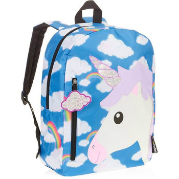 """Unicorn In The Clouds - 16"""" Backpack"""