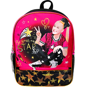 """Jojo Siwa 16"""" Backpack with 1 lower front pocket"""