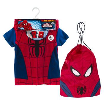 Spiderman T-Shirt and Bag 2 pcs Kids Set