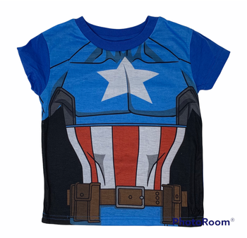 Avengers Captain America T-Shirt and Bag 2 pcs Kids Set