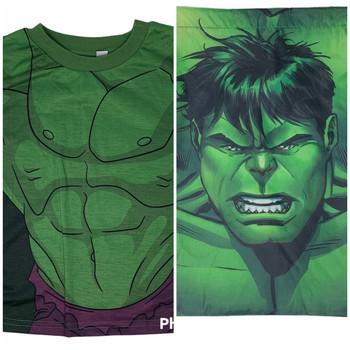 Avengers Hulk T-Shirt and Bag 2 pcs Kids Set