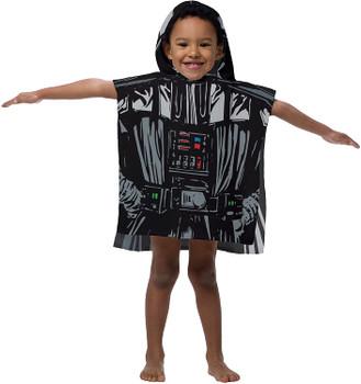 Star Wars Darth Vader Hooded  Poncho Towel