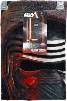 Star Wars EP7 Kylo Ren Beach Towel