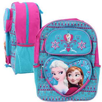 "Disney Frozen Pop-Up Elsa and Anna Backpack 16"""
