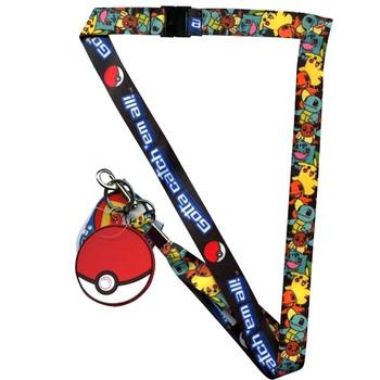 Pokemon Gotta catch' em all! Lanyard
