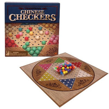 Traditional Chinese Checkers Game Set