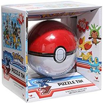 Pokemon PokeBall Puzzle Tin 100 Pc
