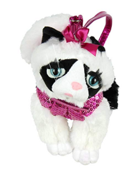 Cat Plush Purse with Strap