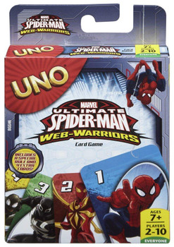 Marvel Spider-Man UNO Card Game - Mattel Games