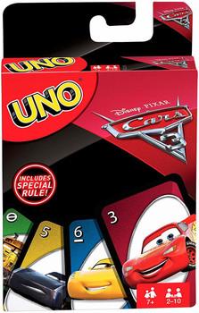 Mattel Games UNO Cars 3 Card Game