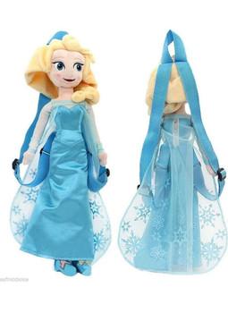 """Disney's Frozen Plush Elsa Backpack 17"""""""
