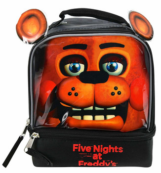 """Five Nights at Freddy's Drop Bottom Lunch Bag 9"""""""