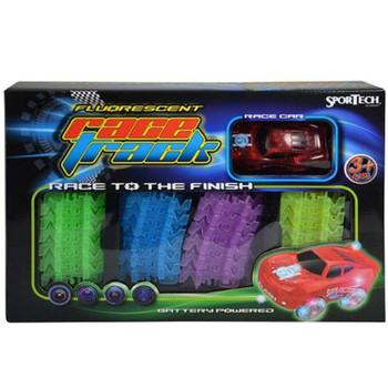 Glow Tracks with Light up Car: Sport Tech 73 Piece
