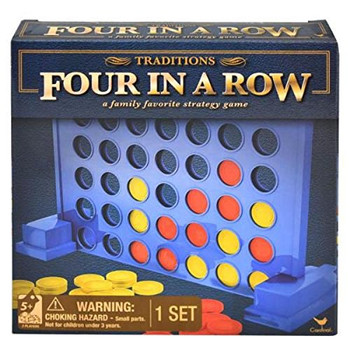 Traditions Four in a Row Board Game