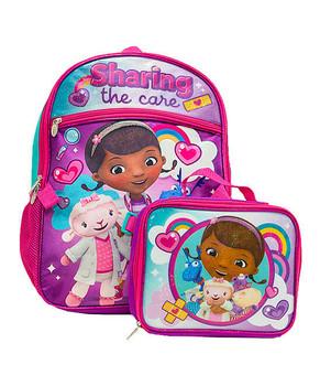 Disney Junior: Doc McStuffins Backpack with Lunch Kit