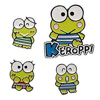 Sanrio Keroppi: Lapel Pin Set