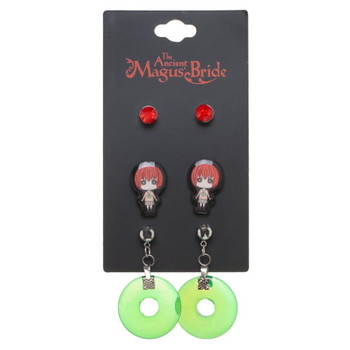 The Ancient Magus Bride Earring 3 Pack Crunchy Roll
