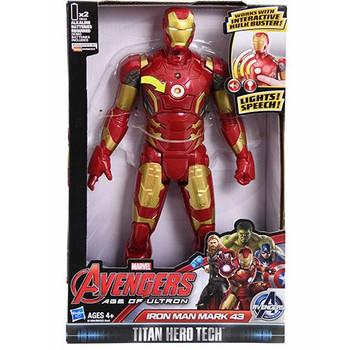"Avengers Iron Man Electronic Figure 12"""