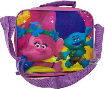 "Trolls Dreamworks 9"" Lunch Bag  with Strap"