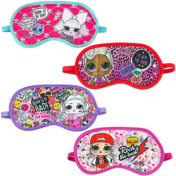 LOL Surprise! 4 Pack Sleep Masks