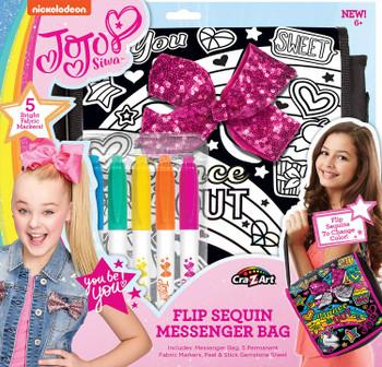 JoJo Siwa Sequin Bow Messenger Bag: Cra-Z-Art Nickleodeon