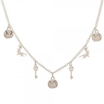 Disney The Nightmare Before Christmas Petite Charm Choker Necklace