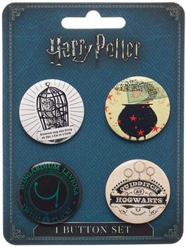Harry Potter Button Pins Set