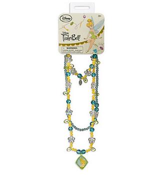 Disneys Tinker Bell Necklace and Bracelet Set