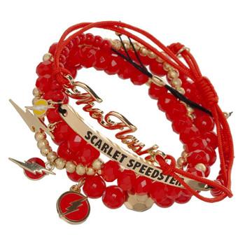 DC Comics Flash Icon Arm Party Bracelet Set