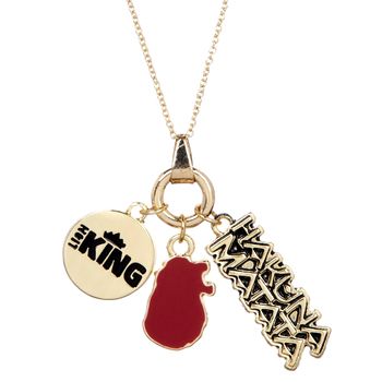Disney The Lion King Multi Charm Necklace