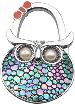 Foldable Handbag Hook Owl Shape