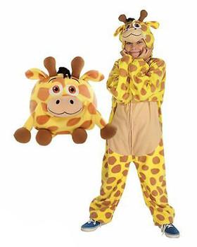 Jay At Play J.animals Costume Pajamas Giraffe, Medium