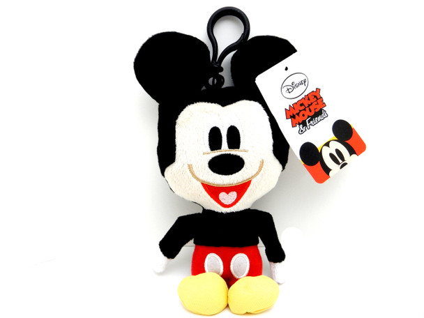 Disney Mickey Mouse Plush Keychain/Coin Purse
