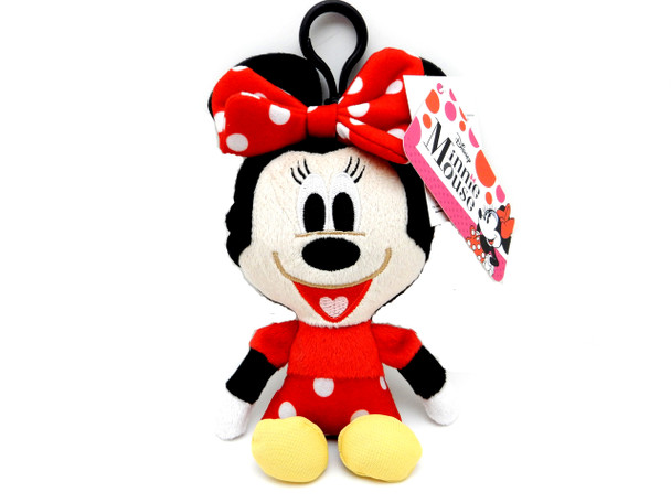 Disney Minnie Mouse Plush Keychain/Coin Purse