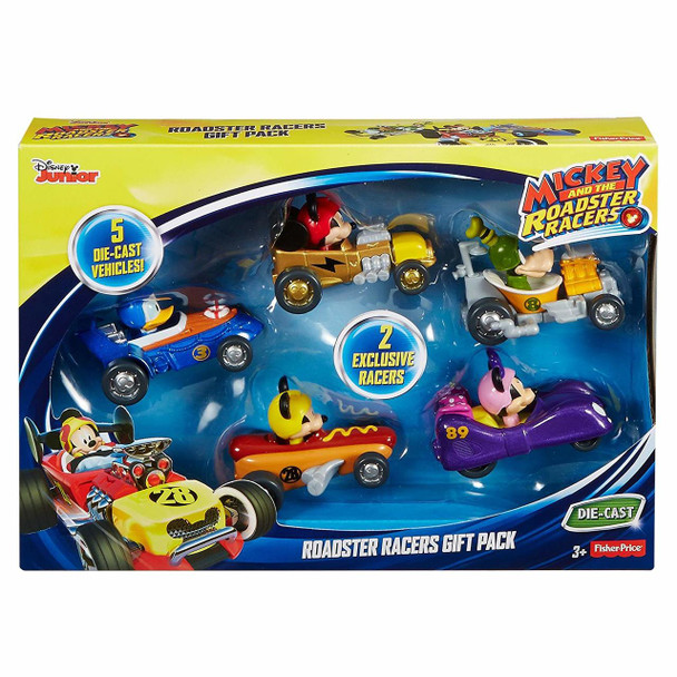 Fisher-Price Disney Mickey and The Roadster Racers Vehicles Gift Pack