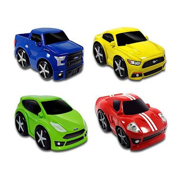 "Ford 3.5"" Preschool Freewheel Vehicle 4 Pack"