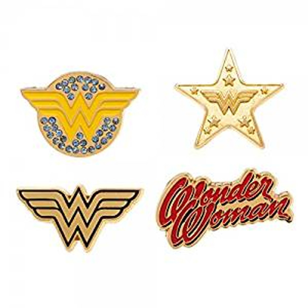 Bioworld Wonder Woman Lapel Pin Set