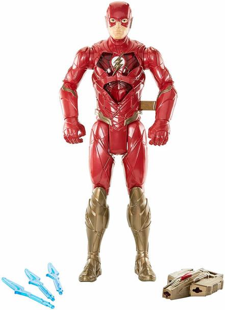 "DC Justice League Lightning Sprint The Flash Figure 12"""