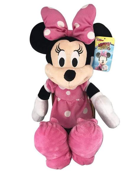 "Disney Minnie Mouse Medium 18"" Plush Roadster Racers Series"