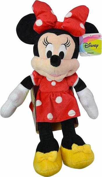 "Disney Minnie Mouse 18"" Plush Red"