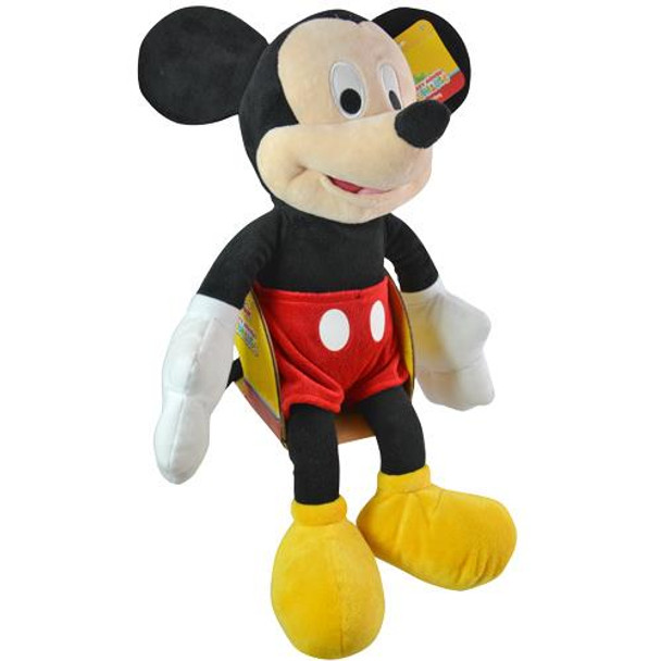 "Disney Mickey Mouse Plush 18"" Roadster Racers Series"