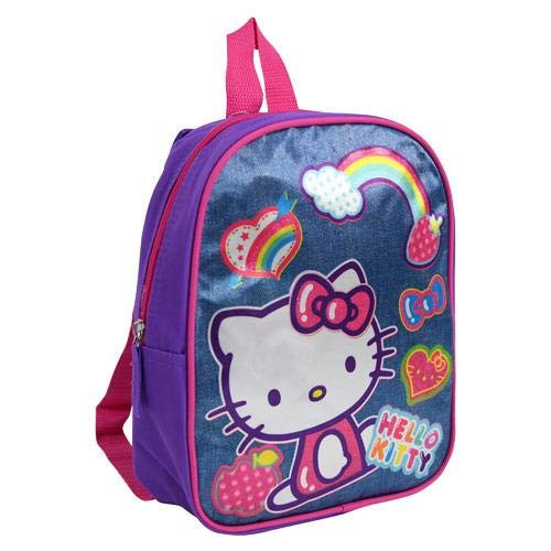 Sanrio Hello Kitty Pink Bow Glitters 10 inches Mini Backpack for Girls