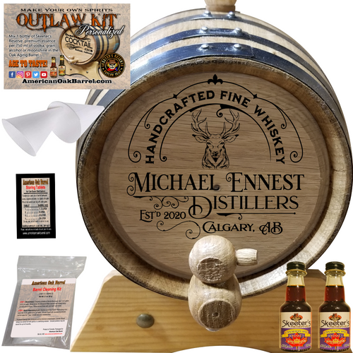 Personalized Outlaw Kit™ (303) Handcrafted Fine Whiskey - Create Your Own Spirits