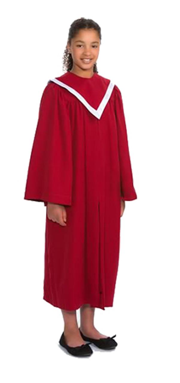 Child White Choir Robe