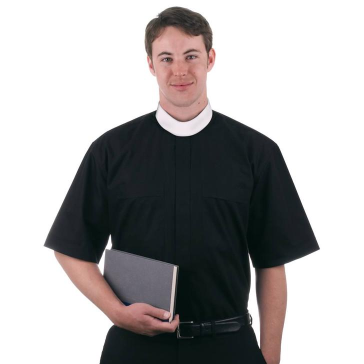 MDS Short Sleeved Neckband Shirt - Mens