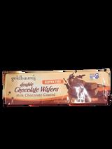 Goldbaum's Double Chocolate Milk Coated Wafers, 110g