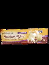 Goldbaum's Hazelnut White Chocolate Coated Wafers, 110g