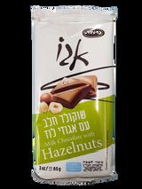 Carmit Milk Chocolate With Hazelnuts, 85g