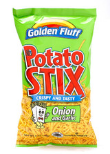Golden Fluff Onion & Garlic Potato Stix, 170g